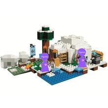 The Polar Igloo Building Blocks Sets Bricks Movie Classic Model Kids Minecrafted Toys For Children цена