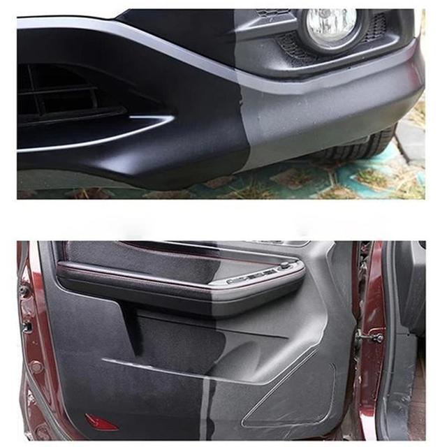 100ml Plastic Parts Retreading Agent Wax Auto Interior Renovated Wax Coating Plastic Car Gloss Cleaner Polish
