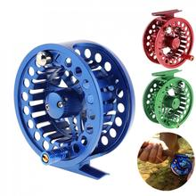 Fly Fishing Reels Full Metal Fly Fishing Reel 5/6 WT 2+1BB Max Drag 5KG / 11LB Large Arbor Casting Former Ice- Reel maxway cnc aluminium fly fishing reel size 5 6 wheel fishing reels right left hand changeable 2 1bb for fly fishing