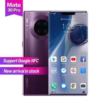 "Huawei Mate 30 pro 6.53"" OLED 3x zoom 2400*1176 Support Google NFC Waterproof 40WSuper Charge Face+Fingerprint 4500mAh 7cameras"
