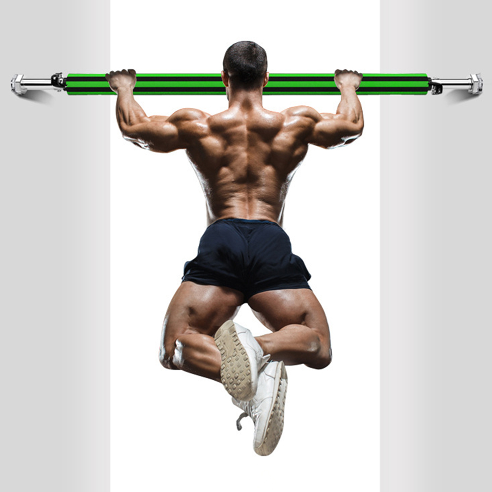 Door Horizontal Bars Steel Spin Adjustable Home Gym Workout Chin Push Up Pull Up Training Bar Sport Fitness Sit-ups Equipments