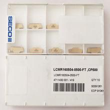 Seco LCMR160504-0500-FT inserções de carboneto cp500 ferramentas cnc 10 peças