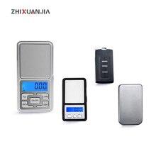 Mini dijital terazi elektronik ağırlık tartısı mini cep ölçeği 0.01g 100 500g terazi ilaç laboratuvar denge aracı anahtar Gram tartı