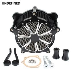 Air Filter Venturi Cut Air Cleaner Intake For Harley Dyna Street Bob Wide Glide 93-2017 Touring Road King Softail Slim Breakout