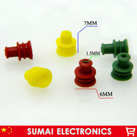 Auto Connector Waterdichte Ring/Cirkel  Waterdichte Stekker  Hid Connector Siliconen Schede  Seal Caps  6Mm Diameter