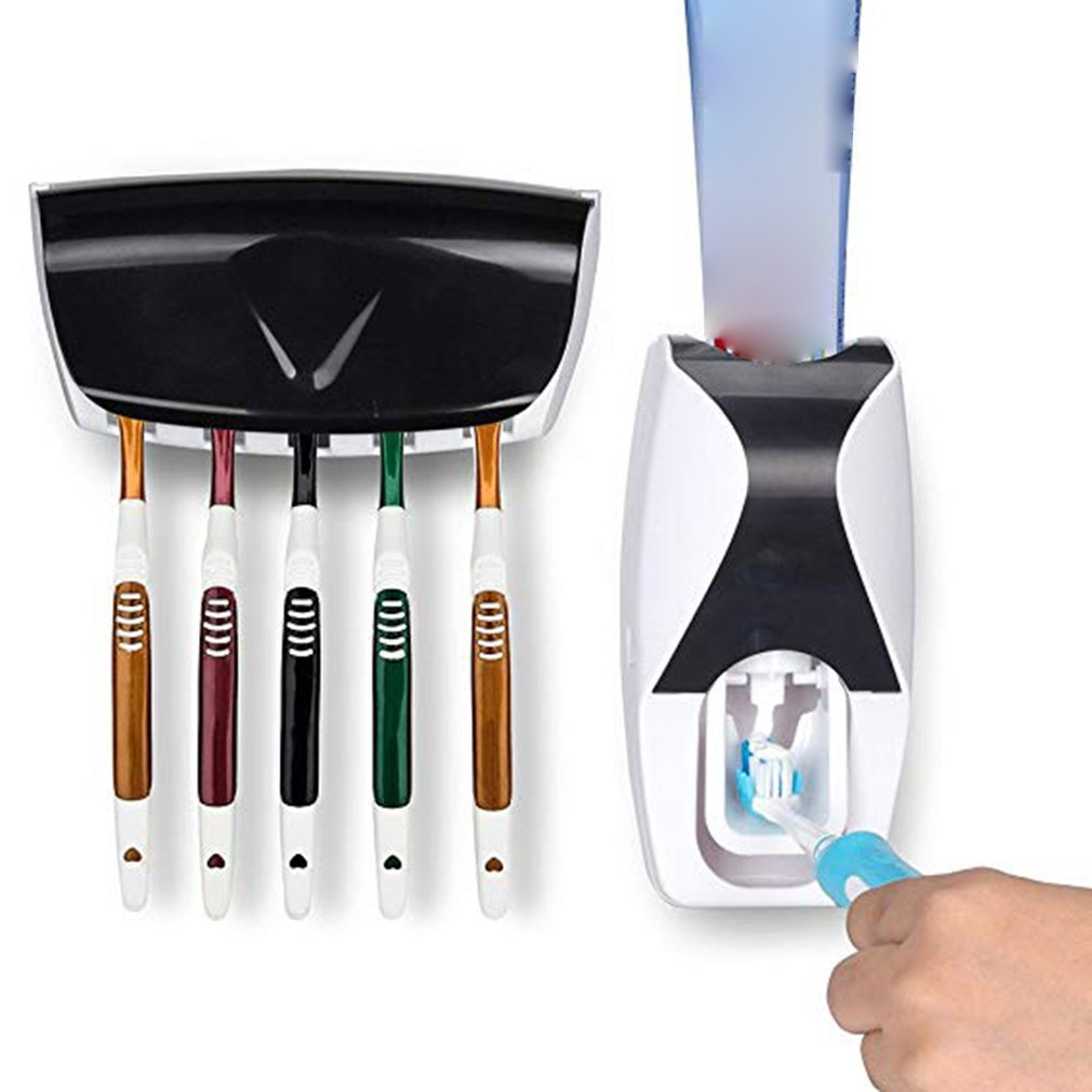 Creative Automatic Toothpaste DisPEnser Environmentally Friendly Bathroom Universal Degradable Plastic Toothpaste