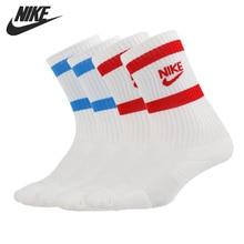 Original New Arrival NIKE U NK HERITAGE CREW 2PR Unisex Sports Socks