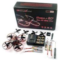 Happymodel Mobula7 HD 2-3S 75mm Crazybee F4 Pro BWhoop Dron de carreras con visión en primera persona PNP BNF con Splite3 Liite Mini FPV Cámara Racer aviones no tripulados