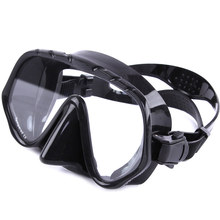 Adult Swimming Goggles Tempered Glass Wide View Anti-fog Snorkel Mask YS-BUY(China)