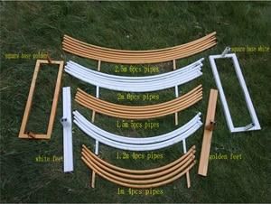Image 5 - 6 ฟุต 8 ฟุต 2.5 M วงกลมขนาดใหญ่งานแต่งงานวันเกิด Arch ตกแต่งพื้นหลัง Wrought Props เดี่ยว Arch ดอกไม้ประตู Rack สนามหญ้ากลางแจ้ง