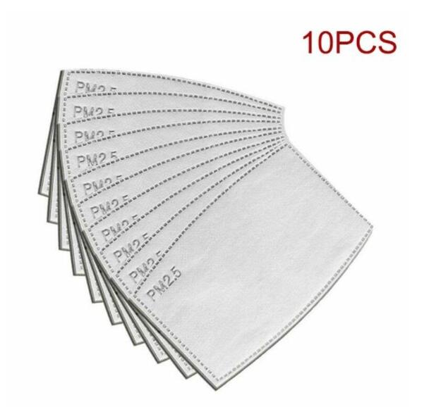 Disposable Mask Pad Filter Paper Disposable Masks Anti-dust Virus Safe PM2.5 Protective (no Mask)
