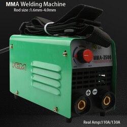 Мини инвертор дуговой сварки сварочный аппарат высокое качество Экономичный и Портативный 220 в 10-130 Ампер IGBT MMA сварочный аппарат