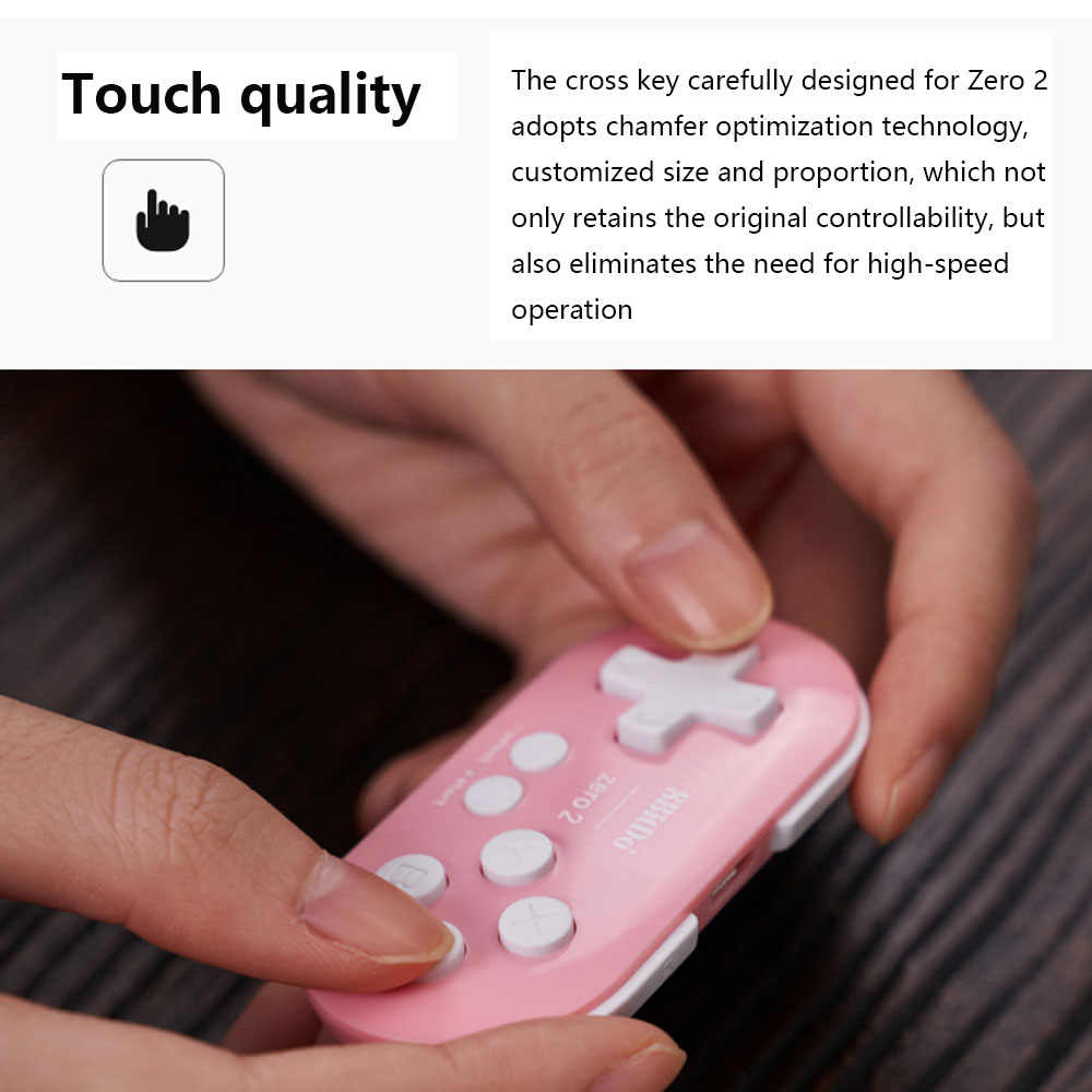8bitdo Mini Bluetooth Gamepad Joypad Joystick For Nintend Nintendo Switch Phone iPhone Android PC Control Game Pad VR Controller