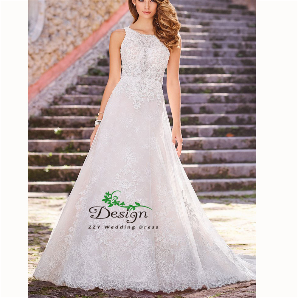 Mermaid/Trumpet Scoop Ivory Emboridery Lace One Net Backhole Ball Gown  Wedding Dress Handworks Sexy Cheap Plus Size Bridal Gown