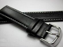 Watch Band Genuine Leather straps Watchbands 18mm 19mm 20mm 21mm 22mm soft watch accessories men Black Thin section Belt band стоимость