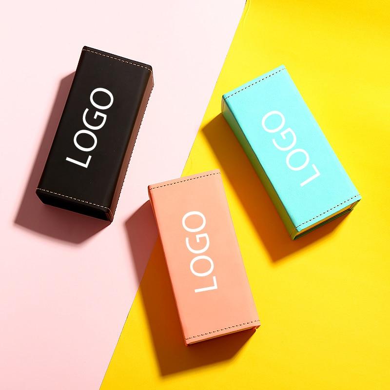 Colorful Classic Black Folding Sunglasses Case For Men Women Protector Glasses Box Eyewear Sunglasses Support Customized LOGO
