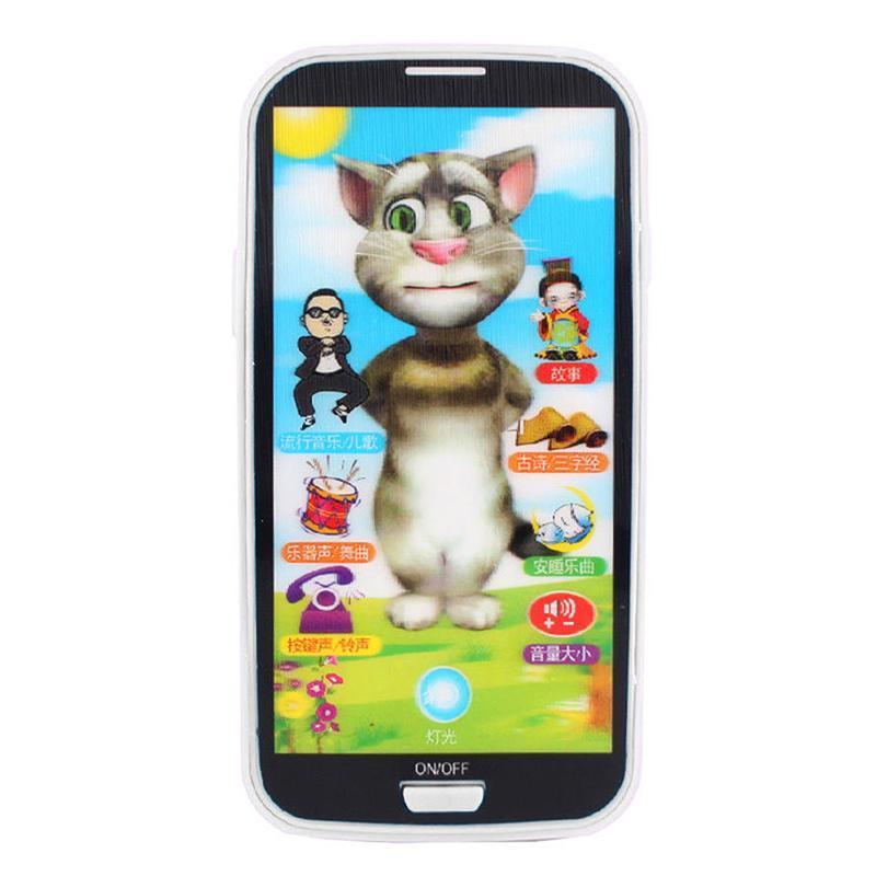 Tela de brinquedo inteligente para crianças, telefone móvel, brinquedo multifunção, simulação, telefone, brinquedo, crianças, criança, presentes, educação p1h2