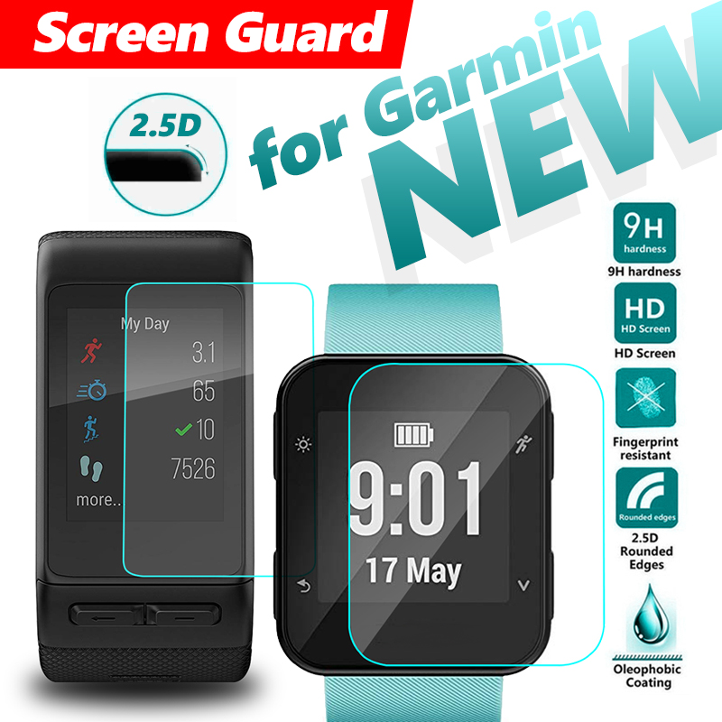 Ultra-thin Screen Protector Film for Garmin Forerunner 35 Smart Watch Screen Protector Glass Screen Explosion Proof SmartWatch