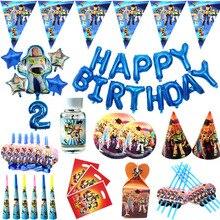 Disney Toy Story 4 Boy decorazioni per feste di compleanno per bambini bicchieri di carta piatti Baby Shower per 10 persone forniture per stoviglie usa e getta