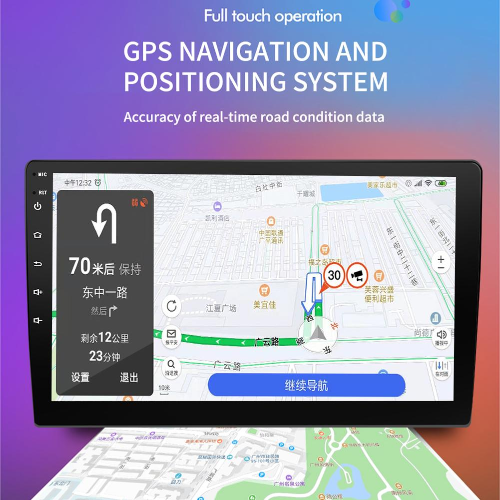 9/10.1 Inch Car Radio Android 8.1 16G Memory HD Touch Screen Bluetooth GPS Navigation WIFI Internet Multi-functional Radio