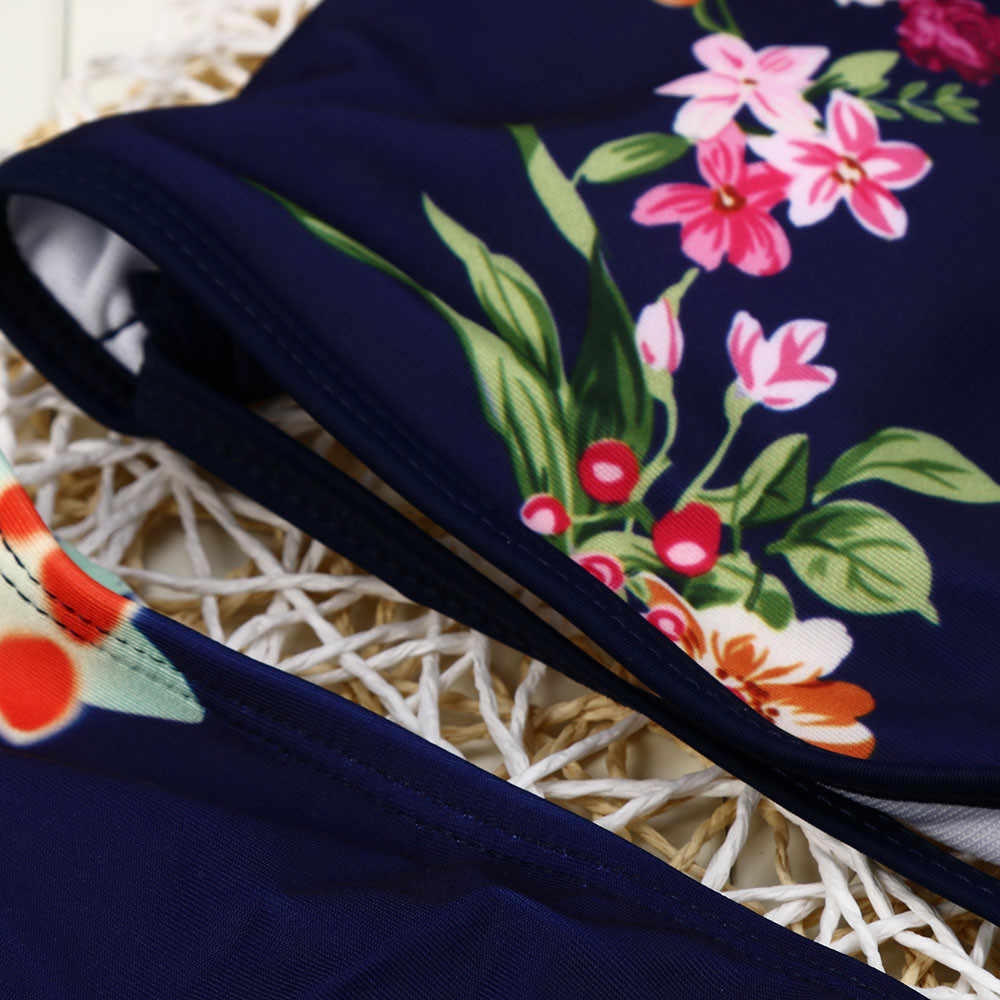 KANCOOLD strój kąpielowy kobiety słodkie Bikini Set stroje kąpielowe push-up usztywniany biustonosz z nadrukiem kostiumy kąpielowe moda nowe stroje kąpielowe kobiety 2020JAN23