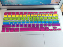 Apple MacBook Air Pro Retina 13.3-Inch 15-Inch 17-Inch New Style Rainbow Silicone Protective Film