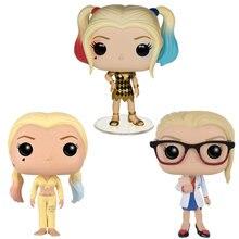 Funko – figurines POP Suicide Squad harley quinn 105 108 DR. harleen #135 DC joker, poupées en vinyle, modèle jouets pour enfants, cadeau de noël