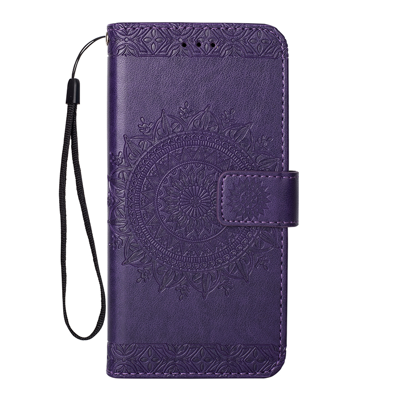 Luxury Wallet Flip Totem pattern Case For Apple iPhone 11 Pro Max 2019 X XR XS MAX 8 7 6 6S Plus 5 5S SE Leather Card Cover