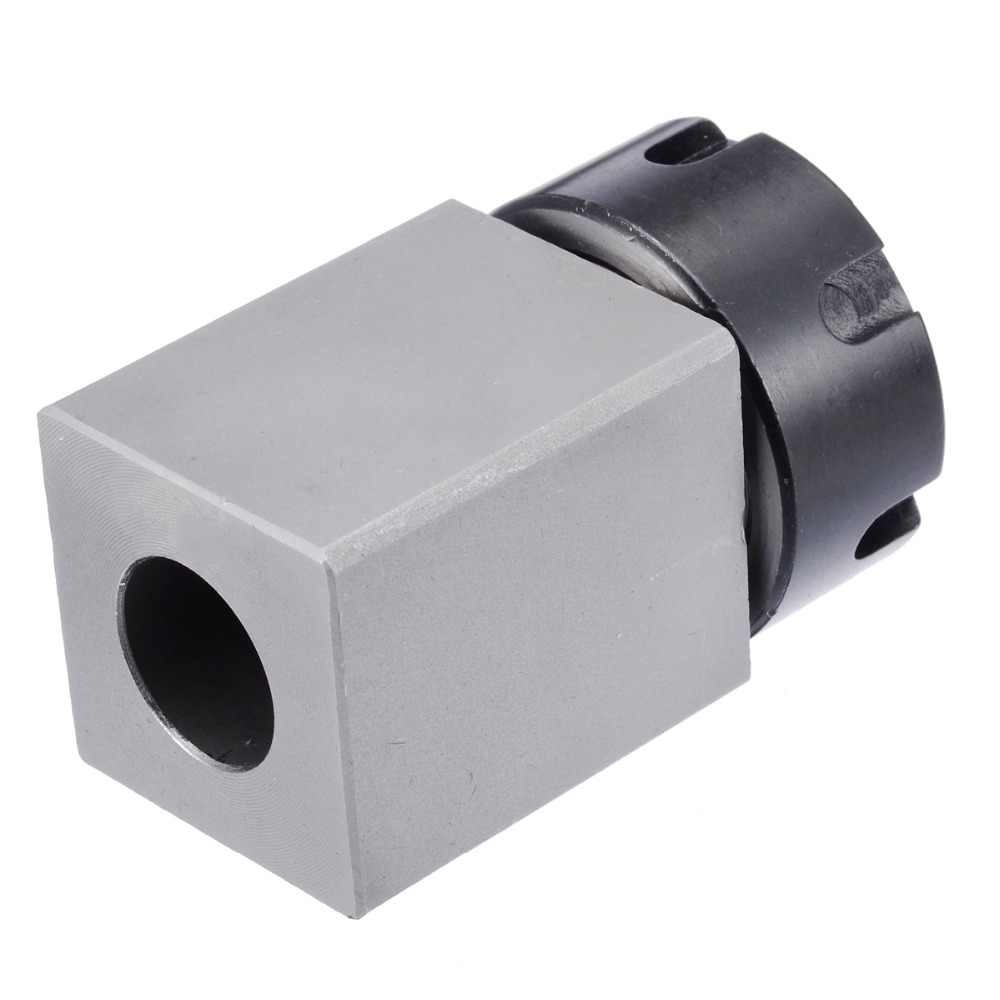 LIANGANAN Tools Hard Steel Hex ER-25 Collet Chuck Block CNC Lathe Tool Holder Metal Lathes Woodworking