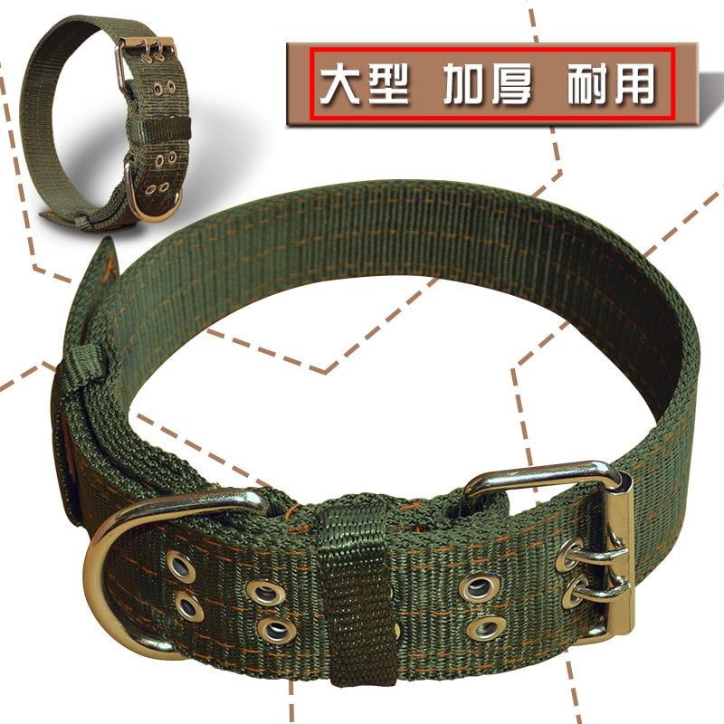 Large Dog Thick Collar Bandana Giant Dog Pet Collar Durbin Allah Satsuma Tibetan Mastiff Large Dog Collar