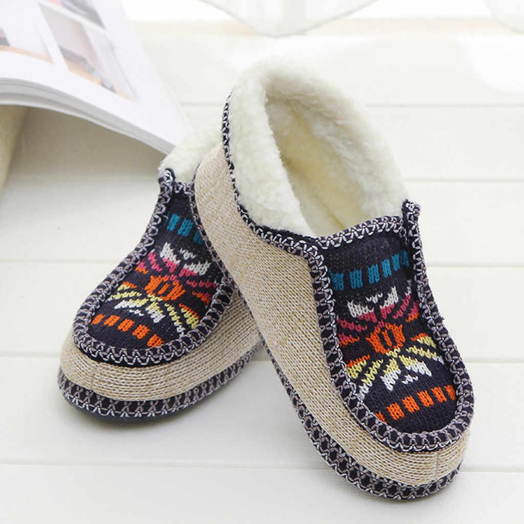 Delle donne degli uomini di Scarpe fiori a maglia casuale scarpe di cotone caldi Stivaletti Più Il Sizeautumn di inverno Delle Signore Calde grils Stivali Scarpe