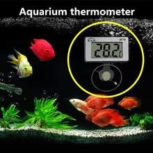 Odatime Mini Fish Tank Thermometer, Waterproof Aquarium Environmental Temperature Meter,Control  Aquatic Temperature Sensor
