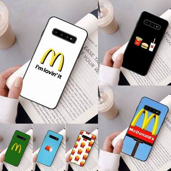 Hot MetroCard French Fries Phone Case For Samsung Galaxy A50 A30 A71 A40 S10E A60 A50s A30s Note 8 9 S10 Plus S10 S20 S8 image