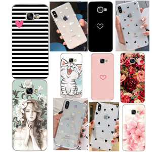 Silicon phone Case For Samsung Galaxy S8 Cases Cover For Samsung S8 S9 plus A3 A5 A7 J5 2017 A8 Plus 2018 Phone shell Full 360