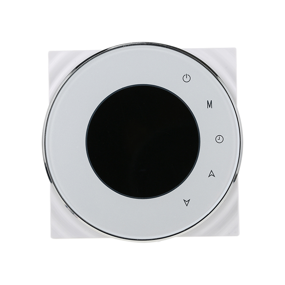 WiFi Control Negative LCD Touchscreen Programing Thermostat Water Heating Temperature Controller NTC Sensor 3A