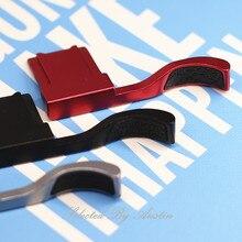 Thumb Rest Vinger Duim Grip Hot Shoe Cover Leather Pad Voor Fuji X100V Fujifilm