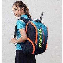 Badminton Backpack, Large Sports Bag for Men Women Best Tennis Pickle Outdoor Gym Bag Lightweight Fit 15.6 Laptop (blue)