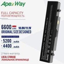 Apexway 11.1V RV520 סוללה עבור סמסונג AA PB9NC6B AA PB9NS6B AA PB9NC6W AA PL9NC6W R428 R429 R468 NP300 NP350 RV410 RV509 R530