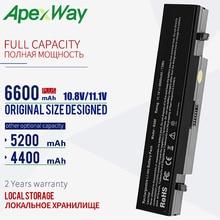 Apexway 11.1V RV520 แบตเตอรี่สำหรับ Samsung AA PB9NC6B AA PB9NS6B AA PB9NC6W AA PL9NC6W R428 R429 R468 NP300 NP350 RV410 RV509 R530