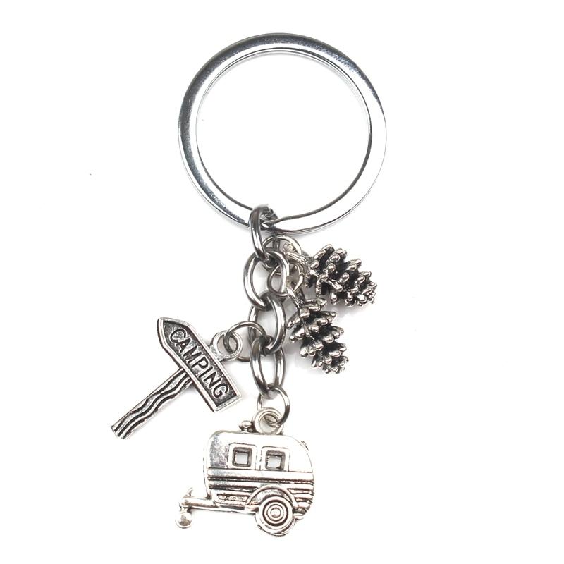 CARAVAN Trailer Keyring Keychain Key Fob