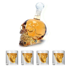 KHGDNOR Skull Glass Shot Whisky Wine Crystal Bottle Cups 25ml 75ml 150ml 250ml Transparent Wine Drinking Cups cheap CN(Origin) ROUND CE EU Shot Glass Eco-Friendly CUP51 skull glass bottle cup set 25ml 75ml 150ml 250ml 125ml 350ml 550ml 1000ml