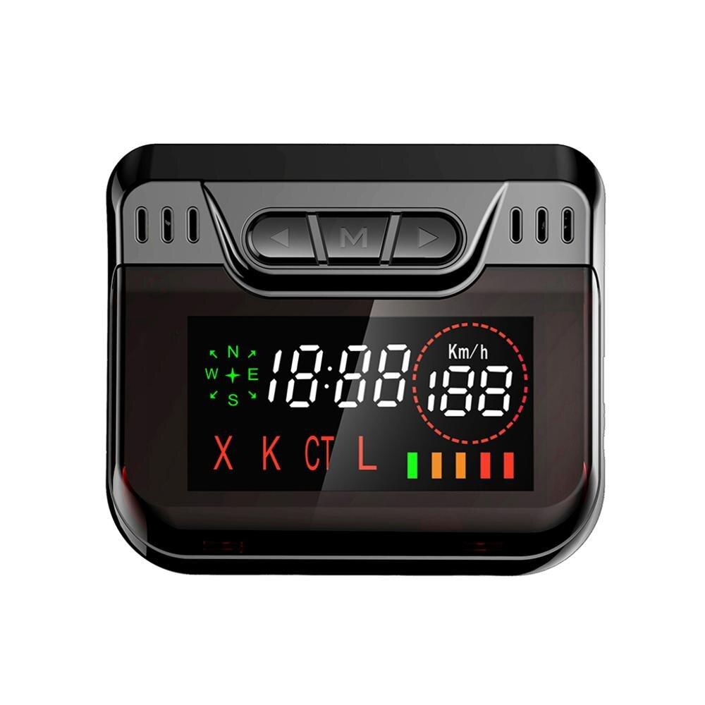 Radar de recul couleur noir OnReal E4 GPS-alerte pour la russie
