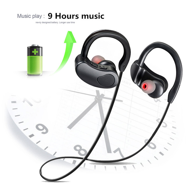 Earphone Stereo Sport Bluetooth Wireless Headphones With Microphone bluetooth Headsets Earbuds For Mobile Phone Android ios