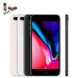 Оригинальный разблокированный телефон Apple iPhone 8 Plus, iPhone 8 Plus, 4,7 дюйма, iOS, 4G, LTE, 3 Гб ОЗУ, 12 Мп, шестиядерный, сканер отпечатков пальцев