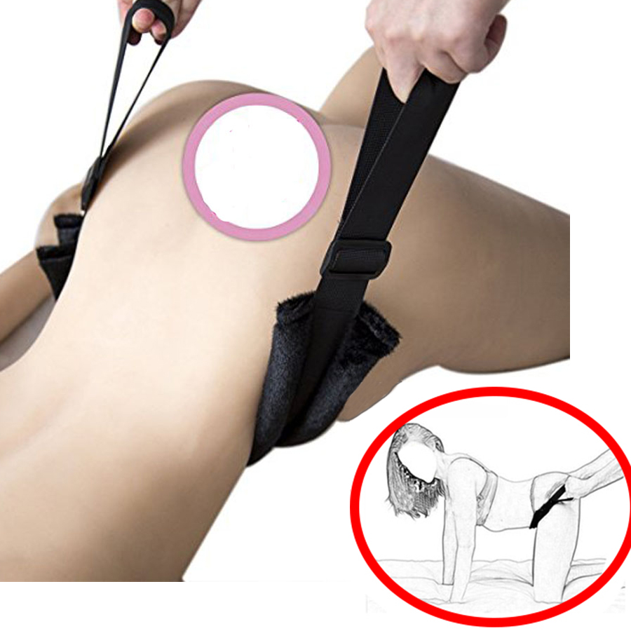 Hold Your Body Up Harness, Doggy Style Position Aid Strap,Hitting G-spot Easier Accessories,BDSM Sex Toys