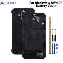 Alesser Blackview Bv9600 Pro pil kapak kılıf değiştirme İnce koruyucu pil kapağı konut Blackview Bv9600 Pro
