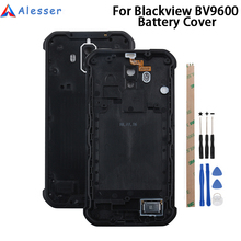 Alesser cubierta de batería para Blackview Bv9600 Pro reemplazo de carcasa delgada, carcasa protectora de batería para Blackview Bv9600 Pro