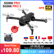 ZLL SG906 PRO 2 PRO2 GPS Drone With 4K HD Camera 3-axis Anti-shake Gimbal WiFi FPV Dron Brushless Professional Quadcopter