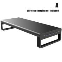 Smart Basis Aluminium Legierung Computer Laptop Basis Stand mit USB 3 0 Port AS99