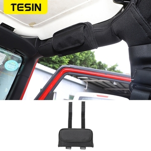 Image 1 - Tesin estiva tidying para jeep wrangler jk jl tj 2018 + multi função óculos saco de armazenamento para jeep wrangler acessórios do carro